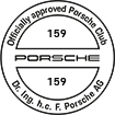 Officially approved Porsche Club 159
